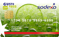 Sodexo authorized to issue electronic meal vouchers