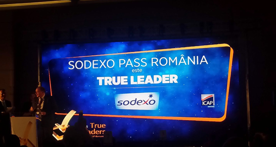 Sodexo Romania is 2015 True Leader